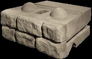 North Coast Redi-Rock Cobblestone Blocks