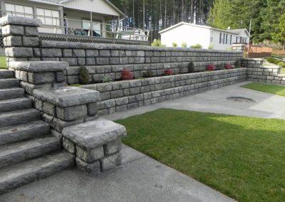 Cobblestone with Planter Boxes