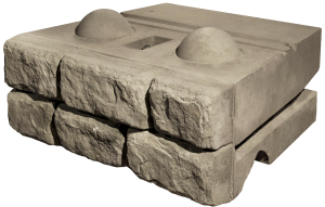 North Coast Redi-Rock Cobblestone Blocks