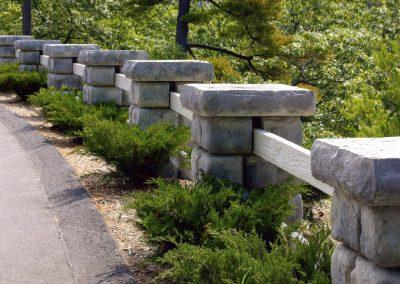 Cobblestone Columns