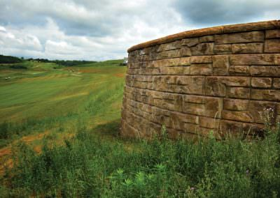 Ledgestone with Cap Golf Course