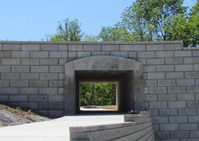 Limestone Retaining Wall 3