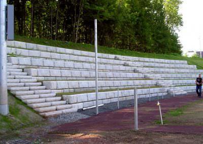Limestone Seating Application