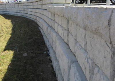 Municipal Project Lorain County-OH-Retaining Wall